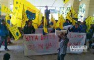 Demo DPRD, PMII Rembang Menyoal Penyerapan Anggaran Sampai Perbup Pilkades