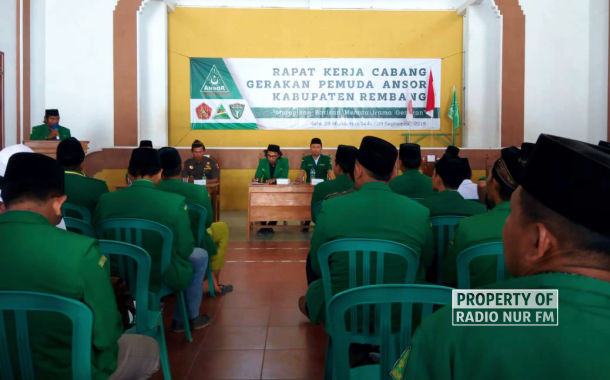 Raker Ansor Rembang : Dorong Kader Duduki Jabatan Publik