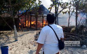 Sembilan Rumah di Kragan Terbakar