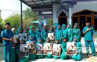 Begini Cara Pelajar SMK Hidayatul Muslimin Sedan Kenang Mbah Moen