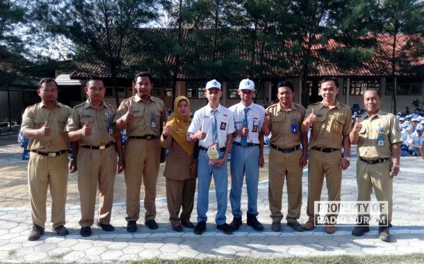 Raih Juara 1 LKS Tingkat Provinsi, Berkat Mobil Dinas Pak Camat