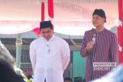 Puncak HSN Tingkat Jawa Tengah, Apel Santri Ditutup Shalat Istisqa