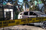 Area Kebakaran Kantor Dintanpan Rembang Dipasang Garis Polisi
