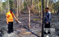 Kebakaran Lahan di Rembang, Kakek Lansia Ditemukan Tewas