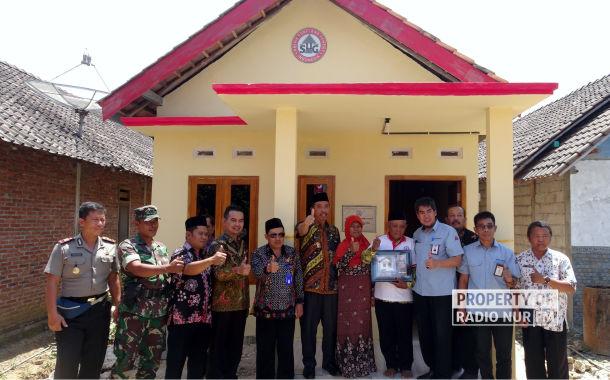 Gelontorkan Ratusan Juta, 12 Rumah Tak Layak Huni Dibangun