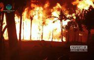 Ditinggal ke Luar Kota, Rumah Kontrakan di Sulang Ludes Terbakar