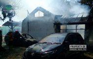 Satu Orang Dilarikan ke RS dalam Insiden Kebakaran Kantor Dintanpan Rembang