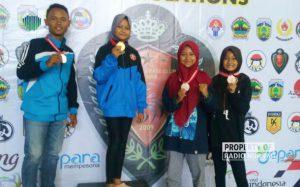 Zahra, Siswi Rembang Juara 1 Karate Nasional - berita rembang