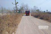 Jalan Desa Temperak Sarang Rusak Parah, Alokasi CSR Tambang Dipertanyakan