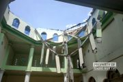 Atap dan Kubah Masjid Jami Karangasem Sedan Runtuh, Begini Kronologinya
