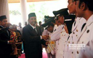 Pelantikan Kades Terpilih Serentak di Rembang