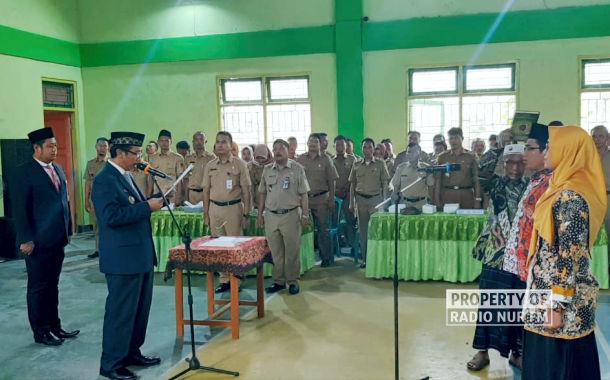 pelantikan bpd desa kabupaten rembang - berita rembang